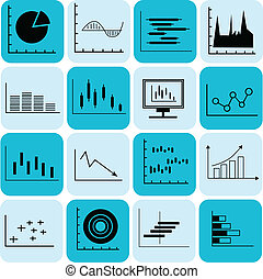 Business Graph icon - Graph and diagram for business...