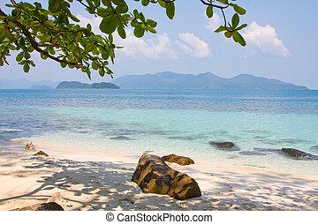 Tropical beach, Thailand.