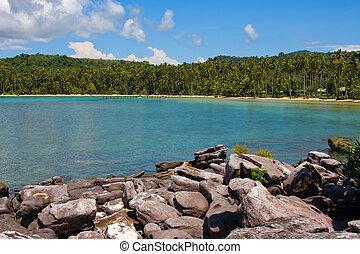 Tropical beach. Thailand.