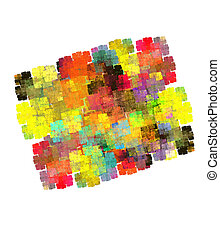 Colorful abstract background. Computer generated graphics.