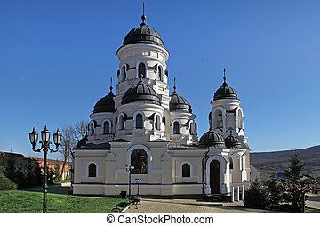Orthodox church from Capriana Monastery, Moldova