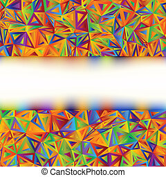 Colorful Abstract Banner template. EPS 8