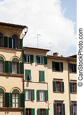 Florence, Italy, Tuscany, Europe, city, ancient, house,...
