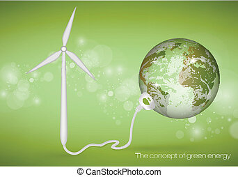 the concept of green energy