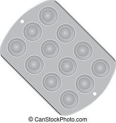 Cake Pan Clipart : Tin pan Vector Clip Art EPS Images. 21 Tin pan clipart ...