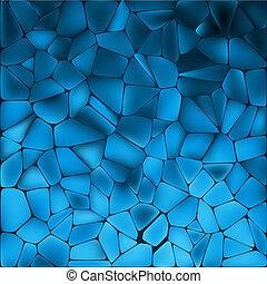 Amazing template design on blue. EPS 8