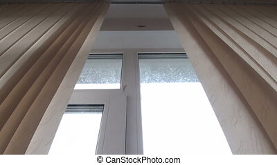 Window blinds, curtains