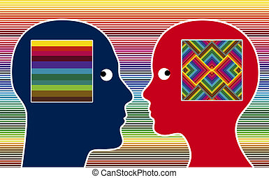 Color Perception - Man and women perceive colors in...