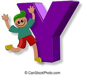 Alphabet Y Boy