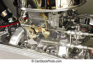hotrod, carburateur