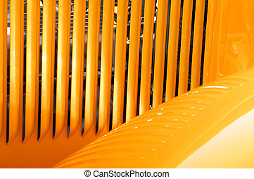 golden vent abstract