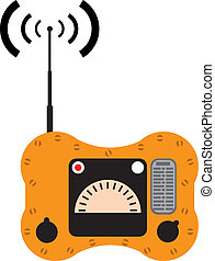 Lifeboat marine radio - lifeboat marine radio illustration...