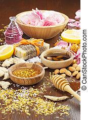 Homemade skincare ingredients