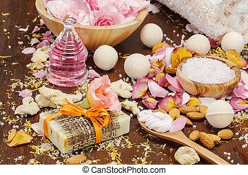 Organic skincare ingredients