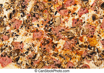 Pizza abstract
