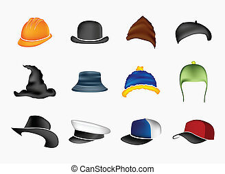 Set of hats