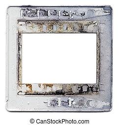 Old plastic slide film mount frame - Old vintage 35mm...