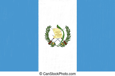 guatemala, bandera, dibujo, pastel, carbón, papel