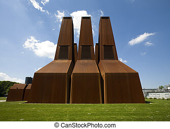 Energy plant - Power plant of the University of Utrecht, the...