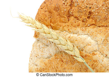 Bran Bread with Ear of Wheat