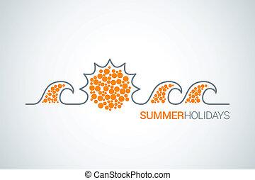 summer design background