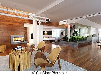 Modern Penthouse - Modern penthouse