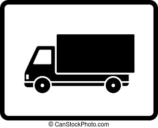 Black white truck Clip Art Vector Graphics. 3,195 Black ...