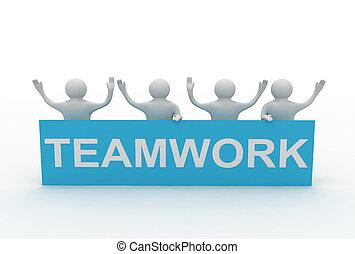 business teamwork concept - business teamwork concpet