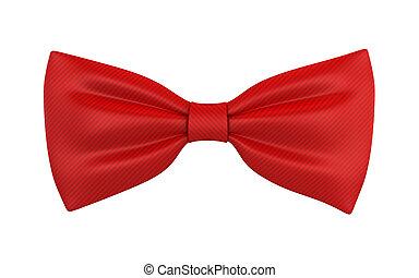 cravate, rouges, arc