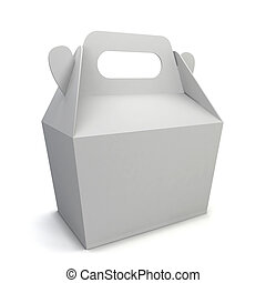 Blank food box