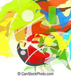 Colorful abstract. Vector illustration.