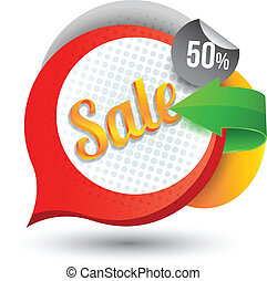 Sale tag banner - can use for promotion