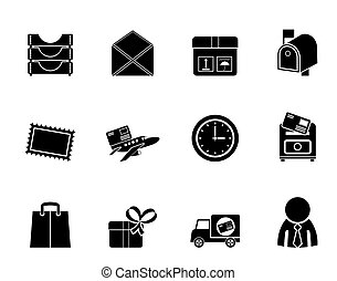 Post and Office Icons