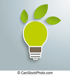 Bulb 3 Leaves Green Energy