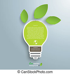 Bulb 2 Leaves Green Energy