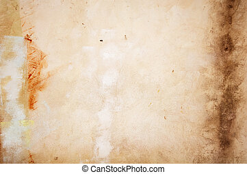 Grungy Wall - A grungy concrete wall as a background