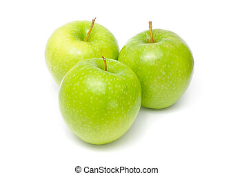Green Granny Smith Apples - Green Granny Smith apples...