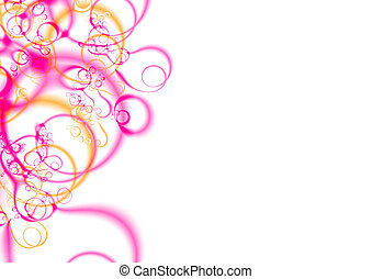 fractal_04a - High Resolution Background, with a fractal...
