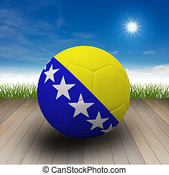 Football - Soccer artwork for Championship 2014. Brazil.