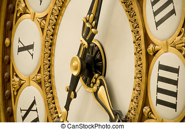 Old Antique Clock