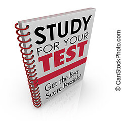 Study for Your Test Book Cover Title Best Grade Score Quiz...