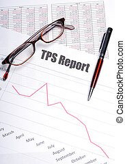 Testing Procedure Specification Report or TPS Report concept...