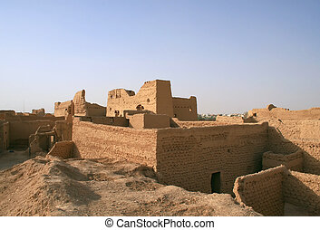 Ruins of Diriyah - Diriyah - old city near Riyadh Saudi...