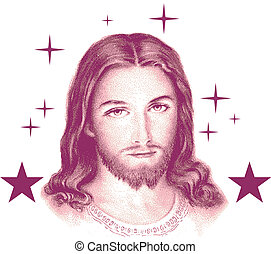 Jesus Faith Religion Vector Clipart Design Illustration...