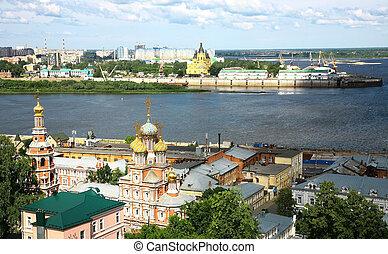 Summer Nizhny Novgorod Russia