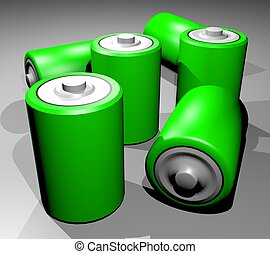 vert, puissance
