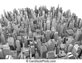 Big city - Creative design of big city