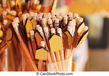 A lot of pencil for sale