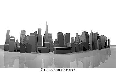 Model city - Creative design of model city