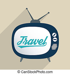 Travel and Cultures - Concept for travel industry,...